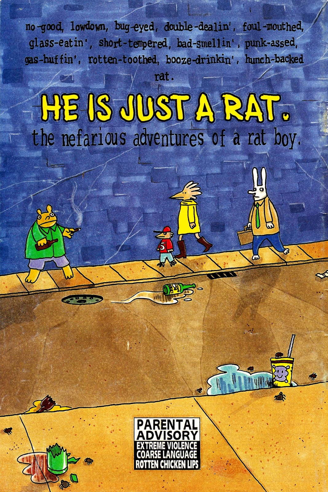 Read online He is Just a Rat comic -  Issue #1 - 52