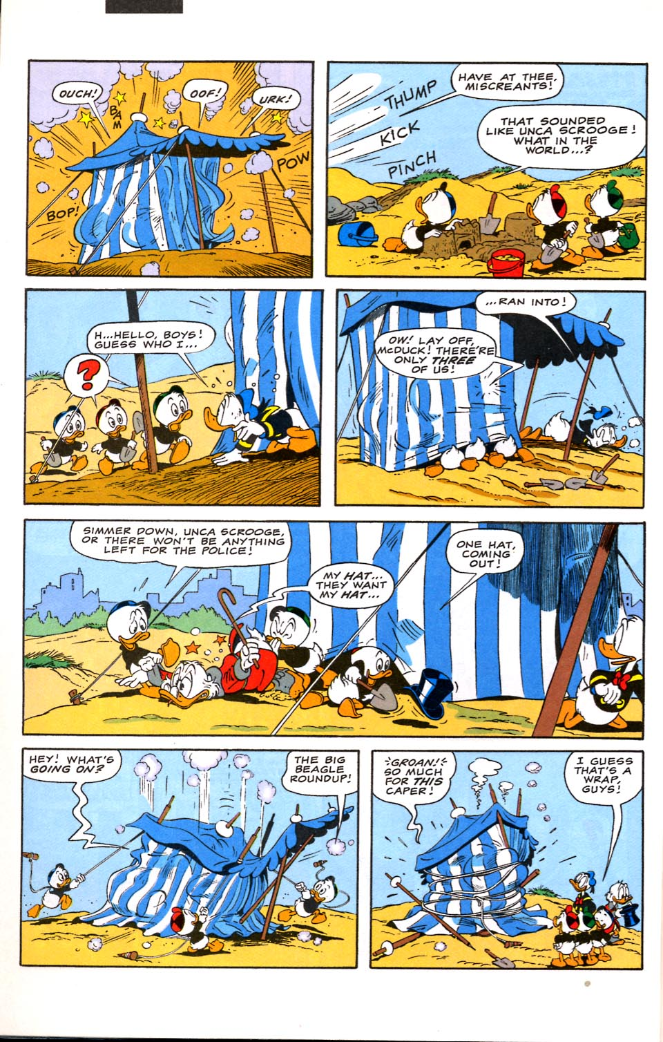 Read online Uncle Scrooge (1953) comic -  Issue #282 - 28