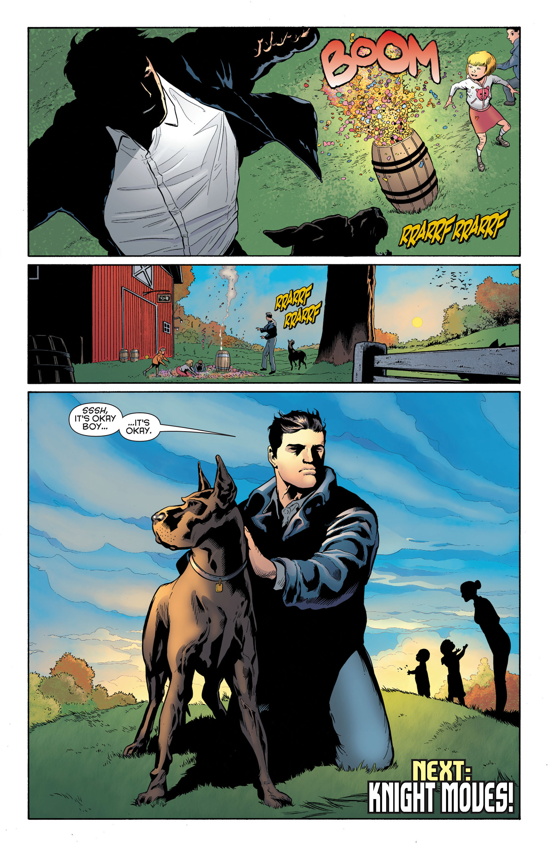 Read online Batman and Robin (2011) comic -  Issue #2 - 19