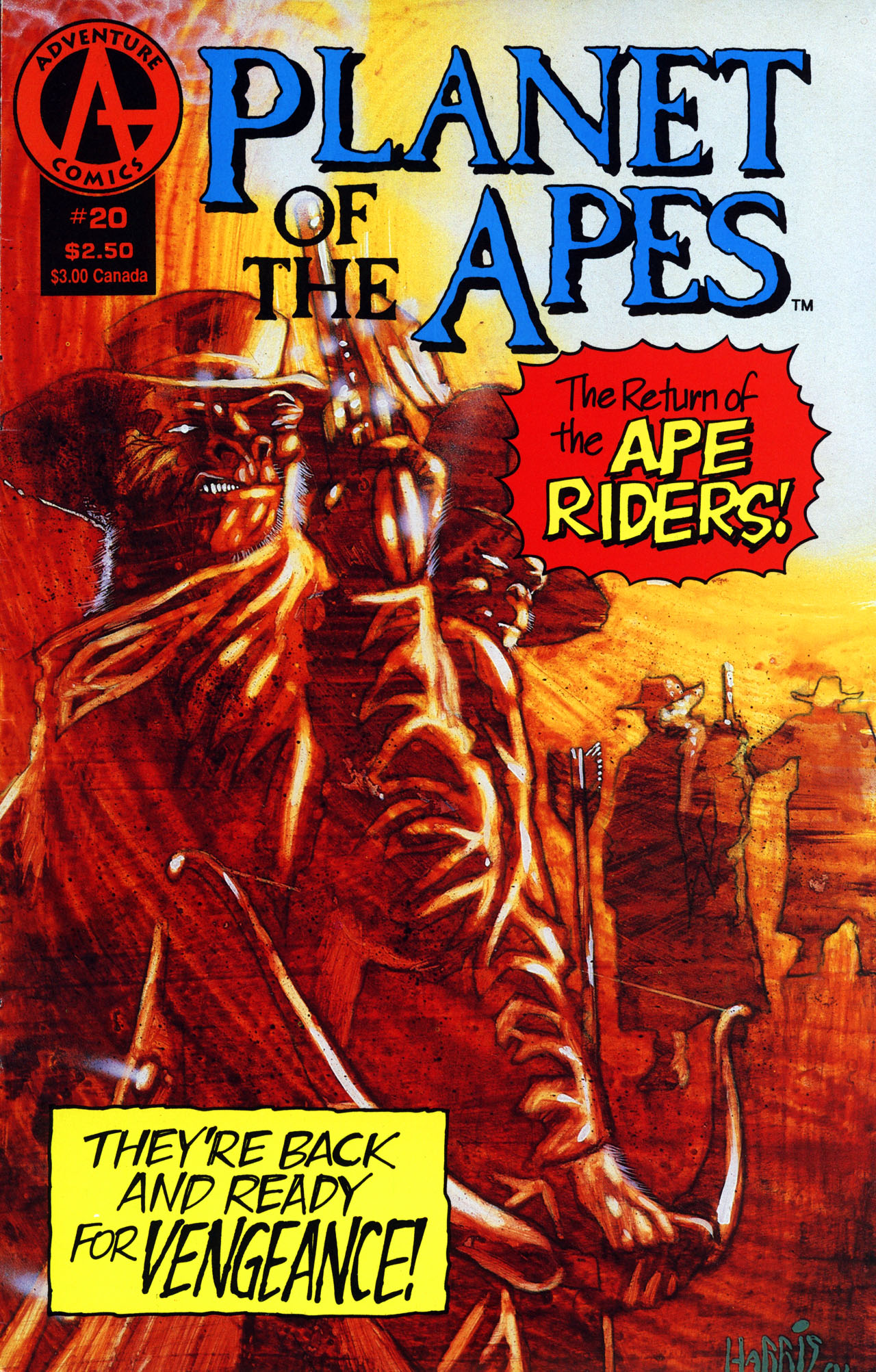 Planet of the Apes (1990) 20 Page 1