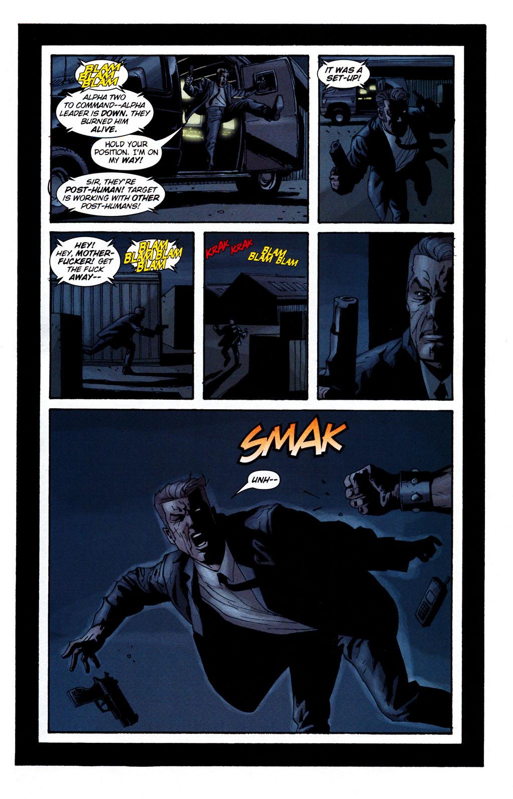 Read online Sleeper: Season Two comic -  Issue #5 - 17