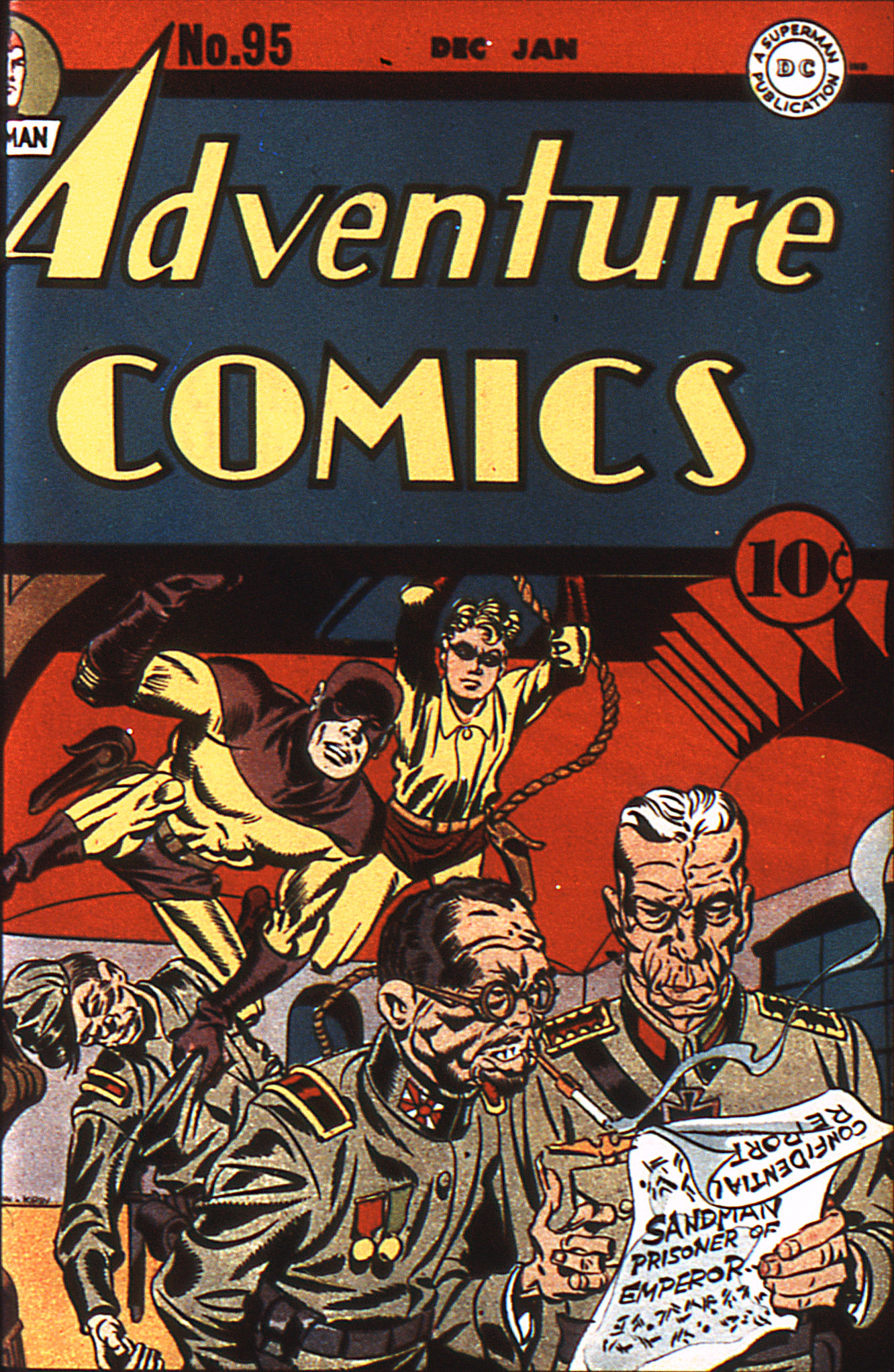 Read online Adventure Comics (1938) comic -  Issue #95 - 1