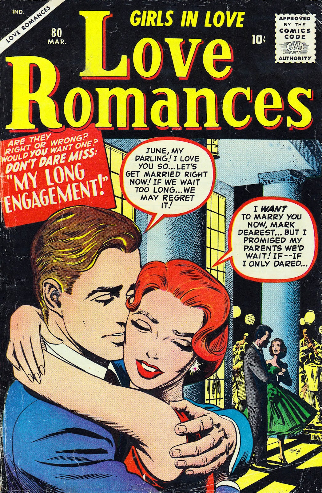 Love Romances (1949) issue 80 - Page 1