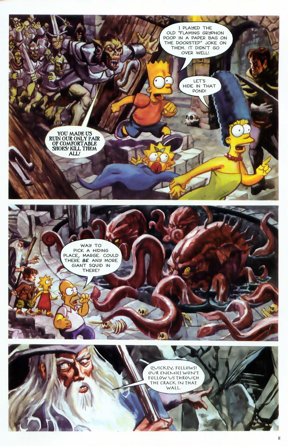 Read online Treehouse of Horror comic -  Issue #9 - 13