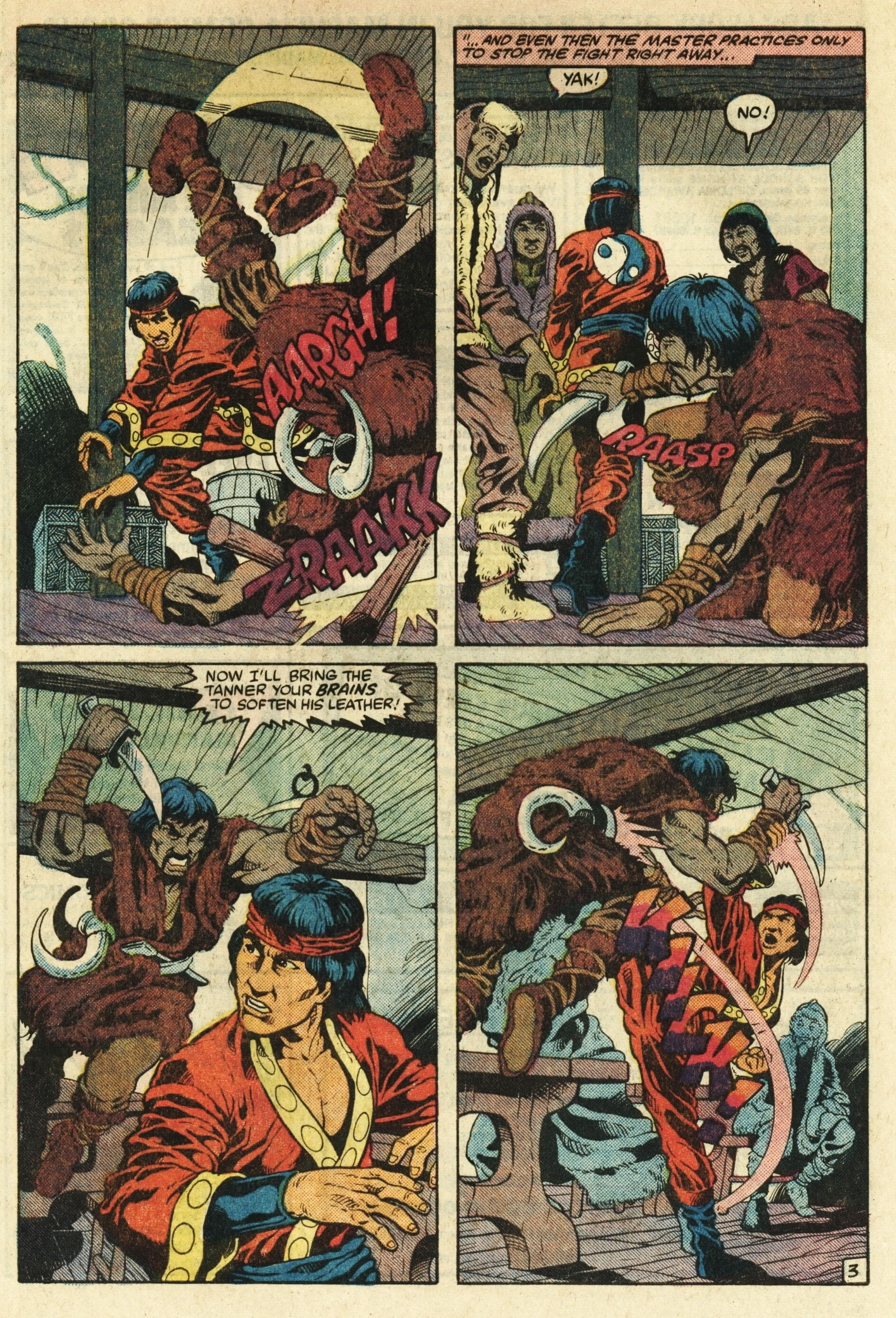 Read online Master of Kung Fu (1974) comic -  Issue #124 - 4