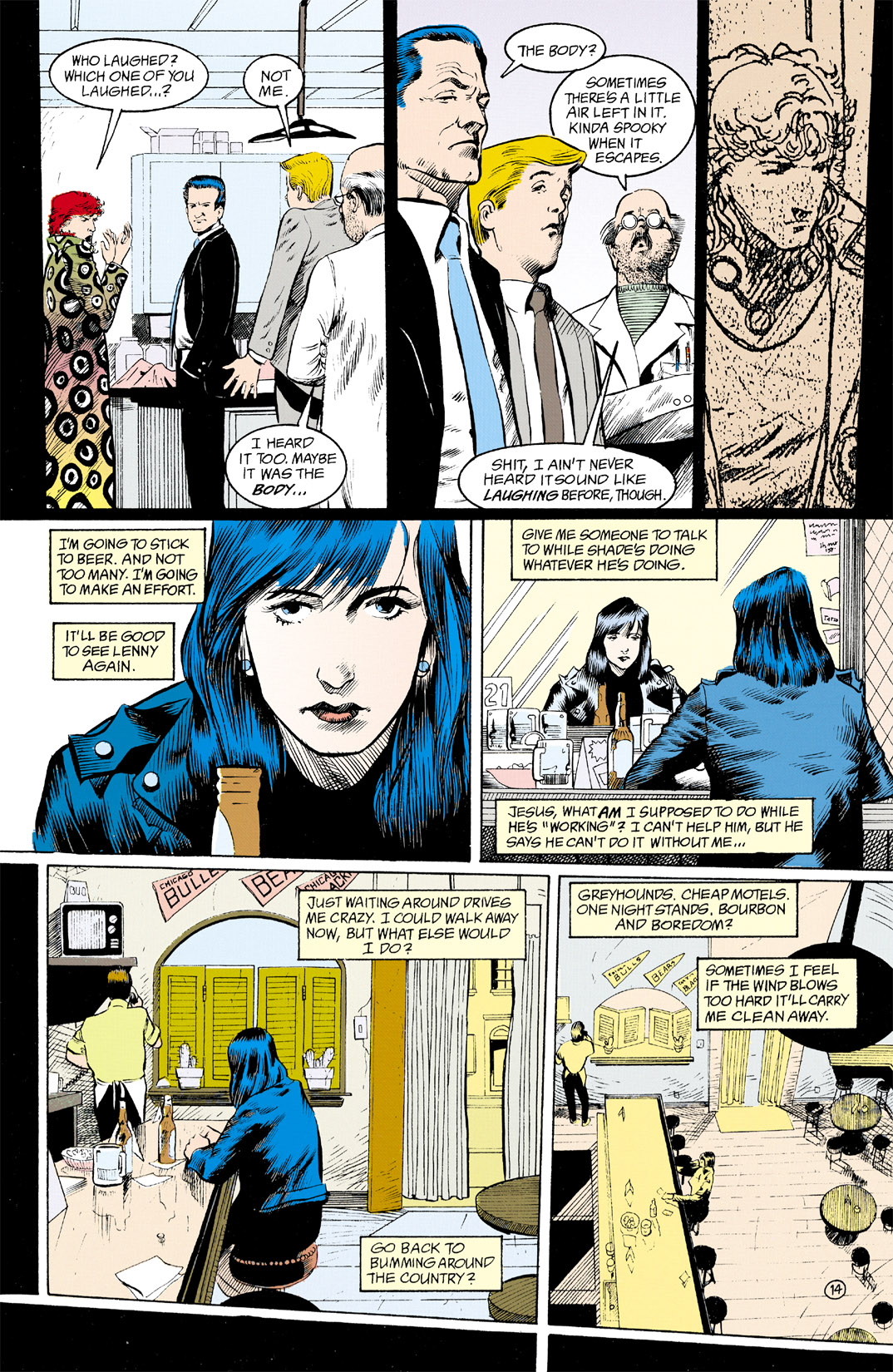 Read online Shade, the Changing Man comic -  Issue #11 - 15