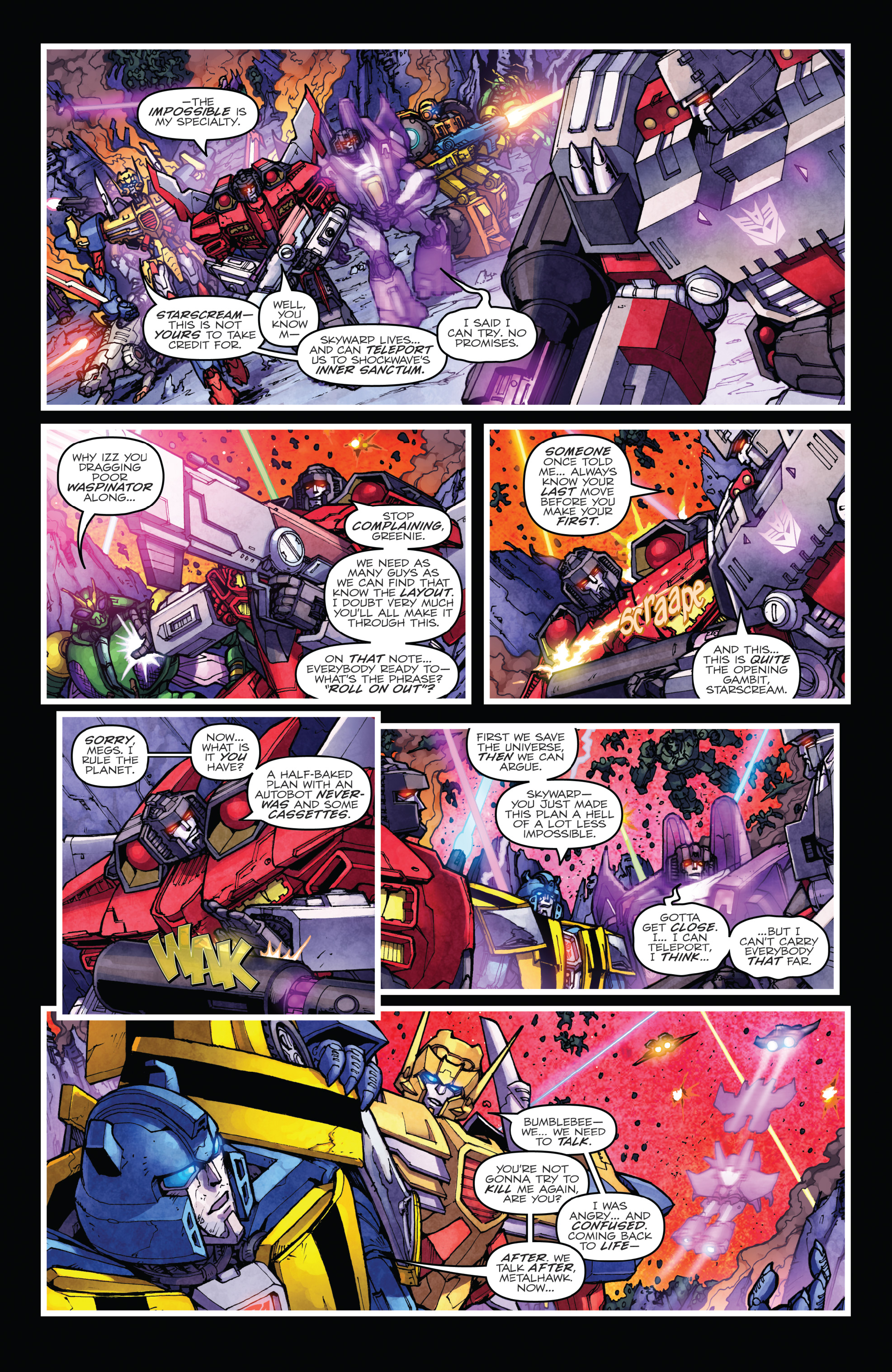 Read online The Transformers: Dark Cybertron Finale comic -  Issue # Full - 111