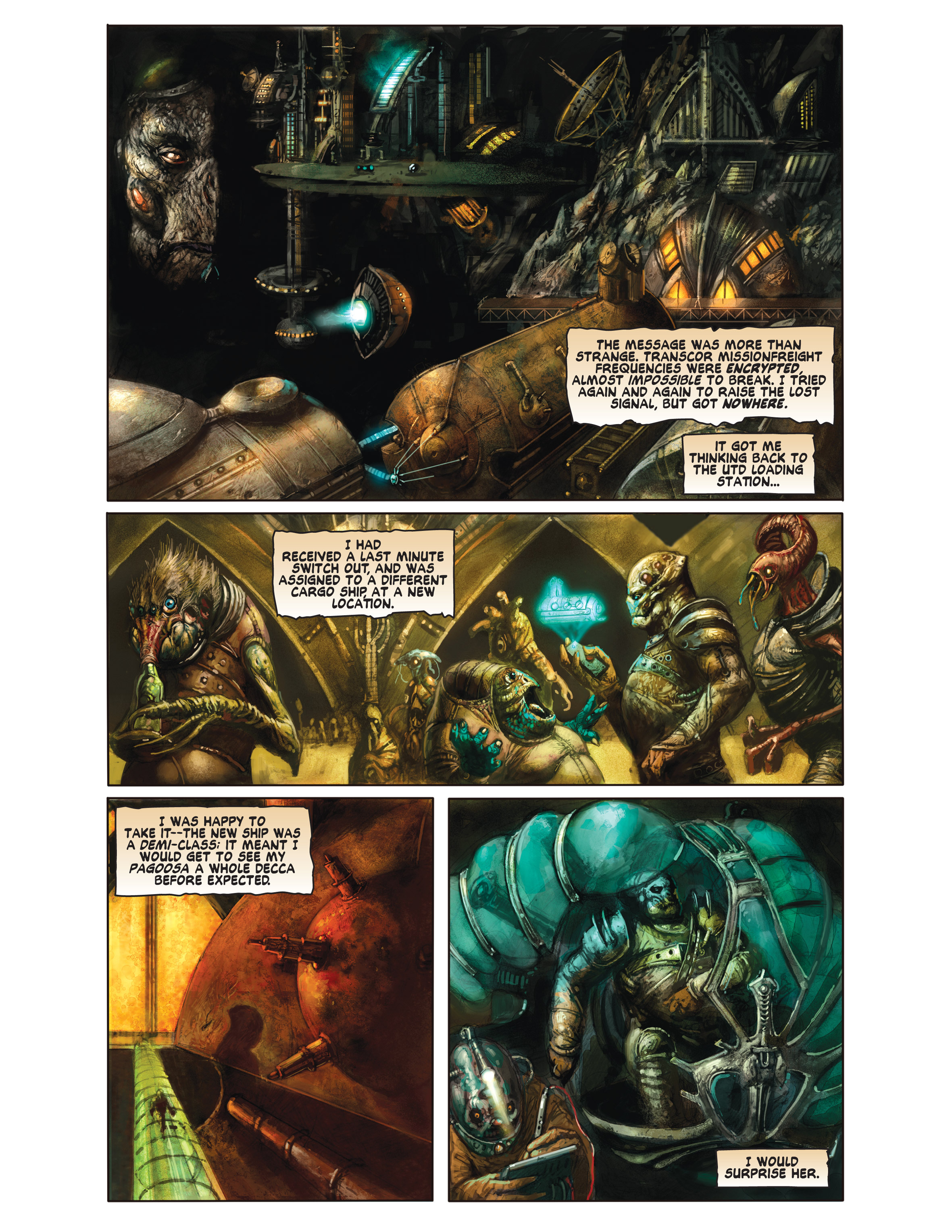 Read online Bad Planet comic -  Issue # TPB - 97