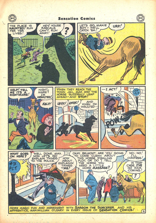 Read online Sensation (Mystery) Comics comic -  Issue #63 - 29