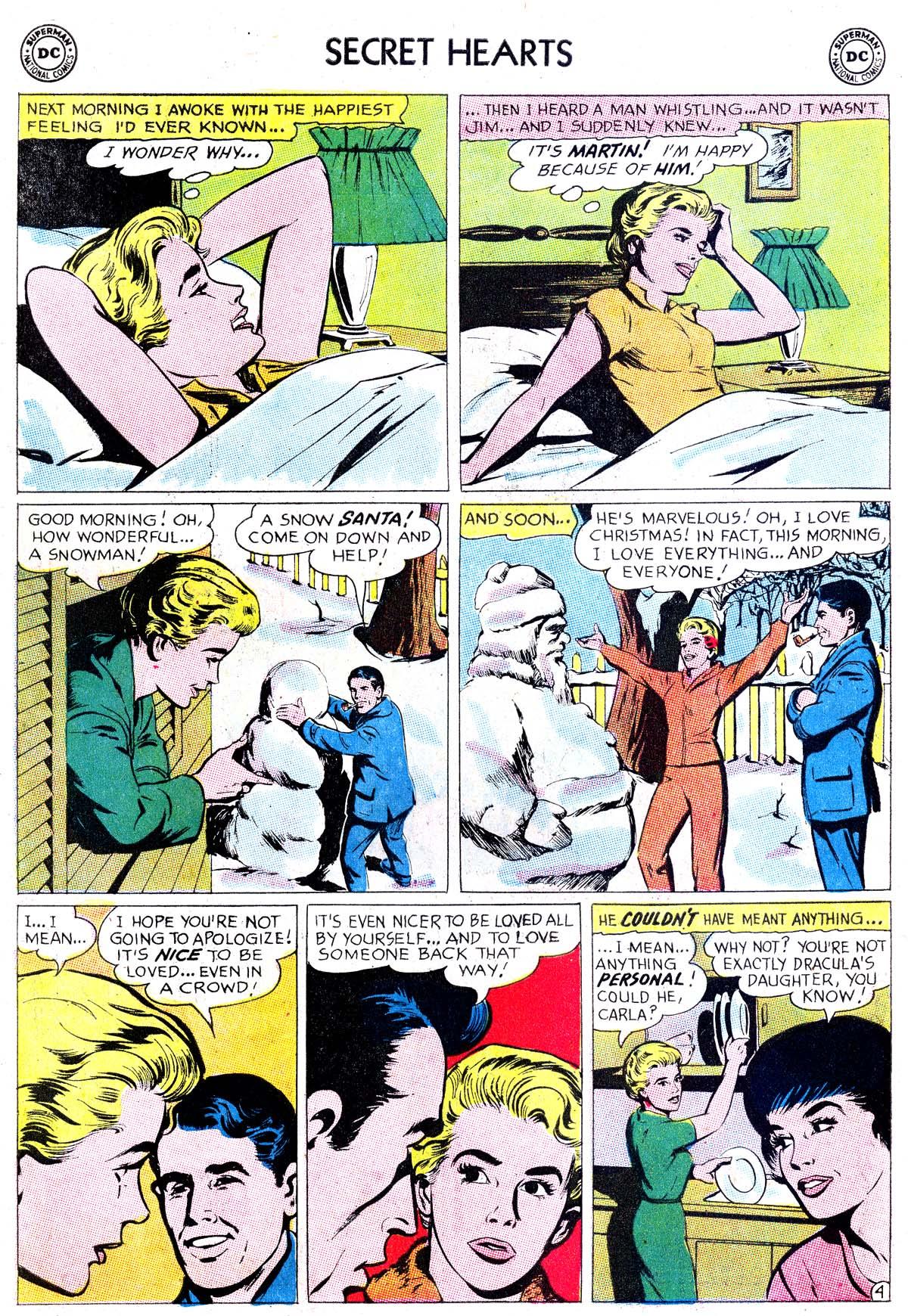 Read online Secret Hearts comic -  Issue #87 - 22