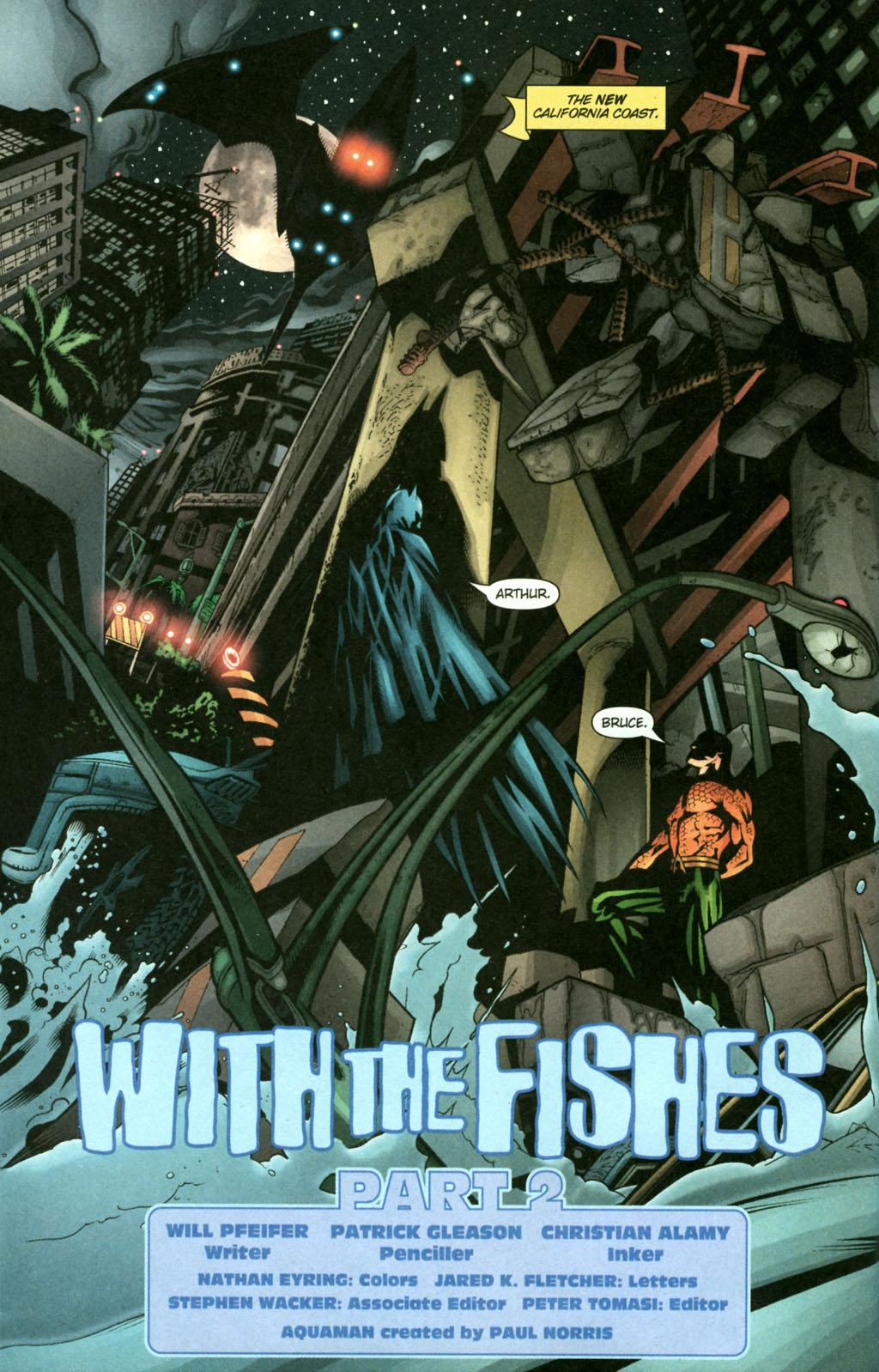 Read online Aquaman (2003) comic -  Issue #22 - 3