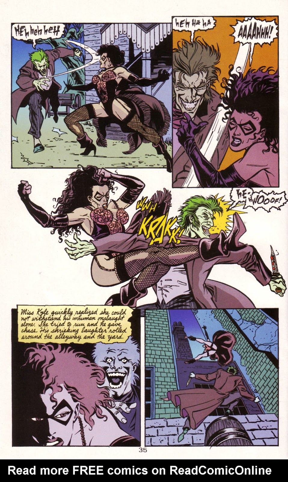 Batman: Two Faces issue Full - Page 36