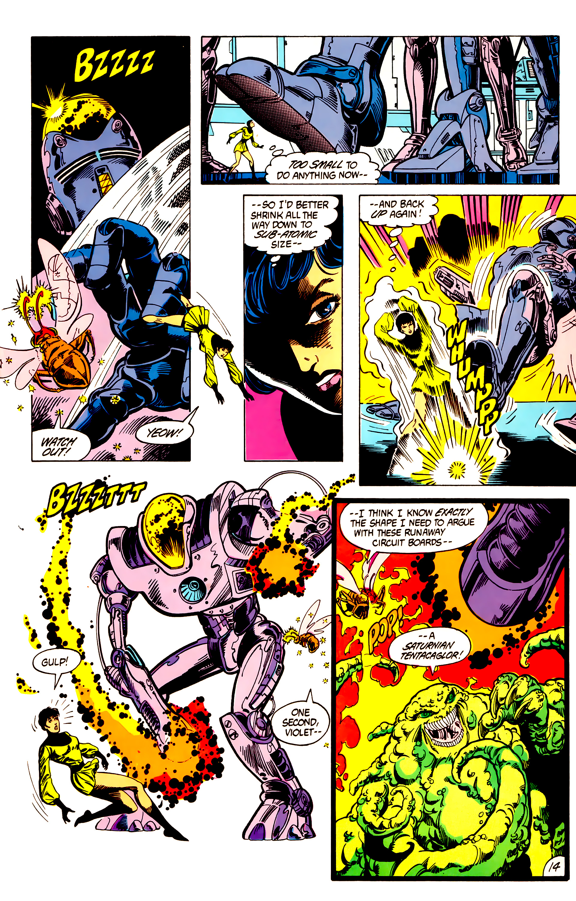 Legion of Super-Heroes (1984) 7 Page 15