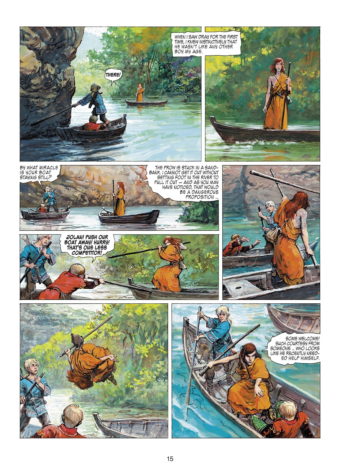Read online Thorgal comic -  Issue #22 - 17