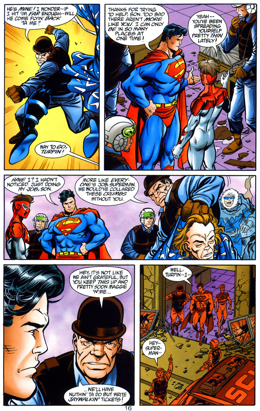 Read online Adventures of Superman (1987) comic -  Issue #565 - 17