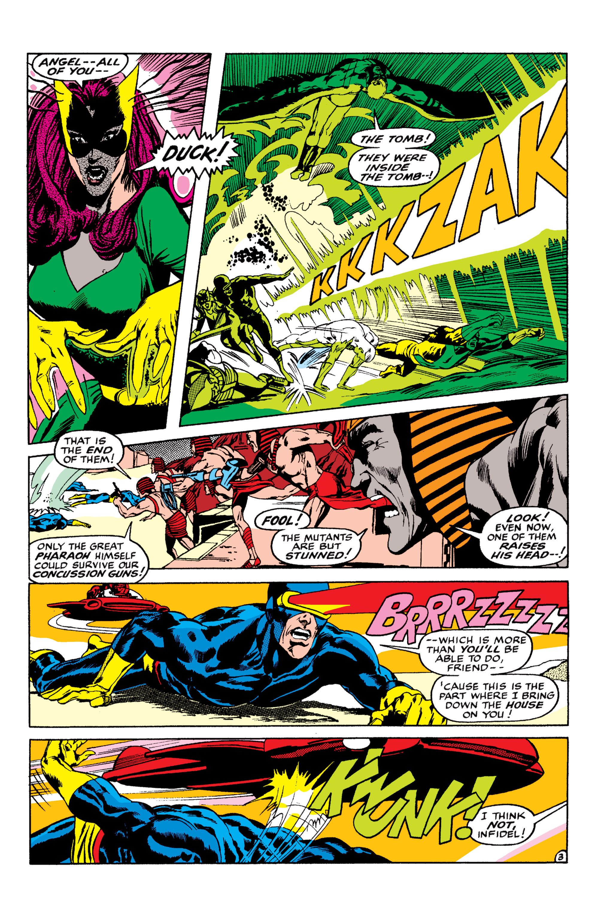 Uncanny X-Men (1963) 56 Page 3
