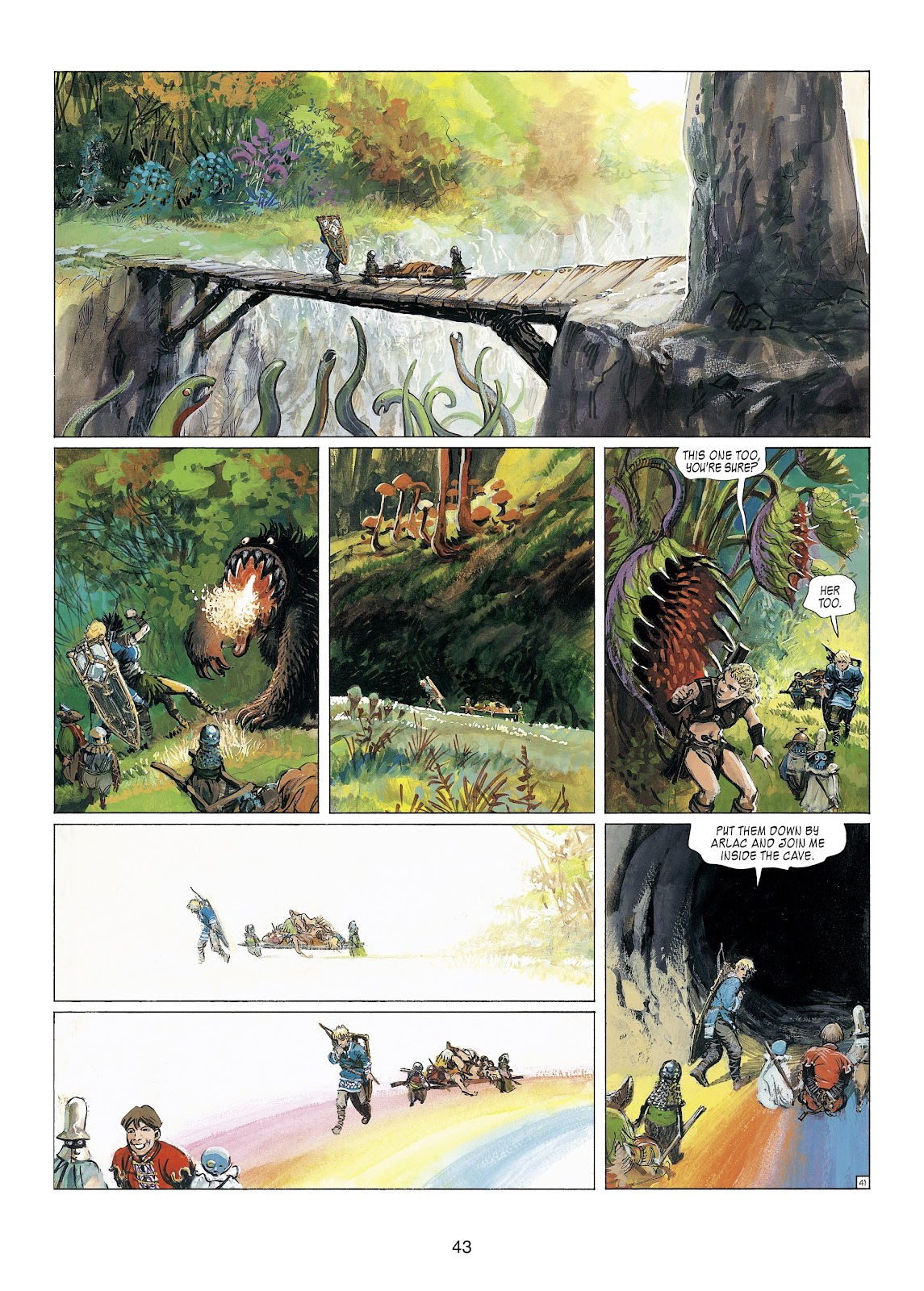 Read online Thorgal comic -  Issue #23 - 45