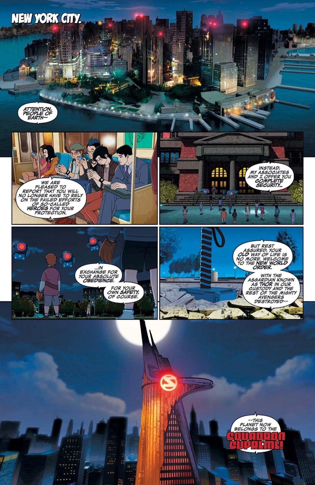 Read online Marvel Universe Avengers Assemble Season 2 comic -  Issue #14 - 3