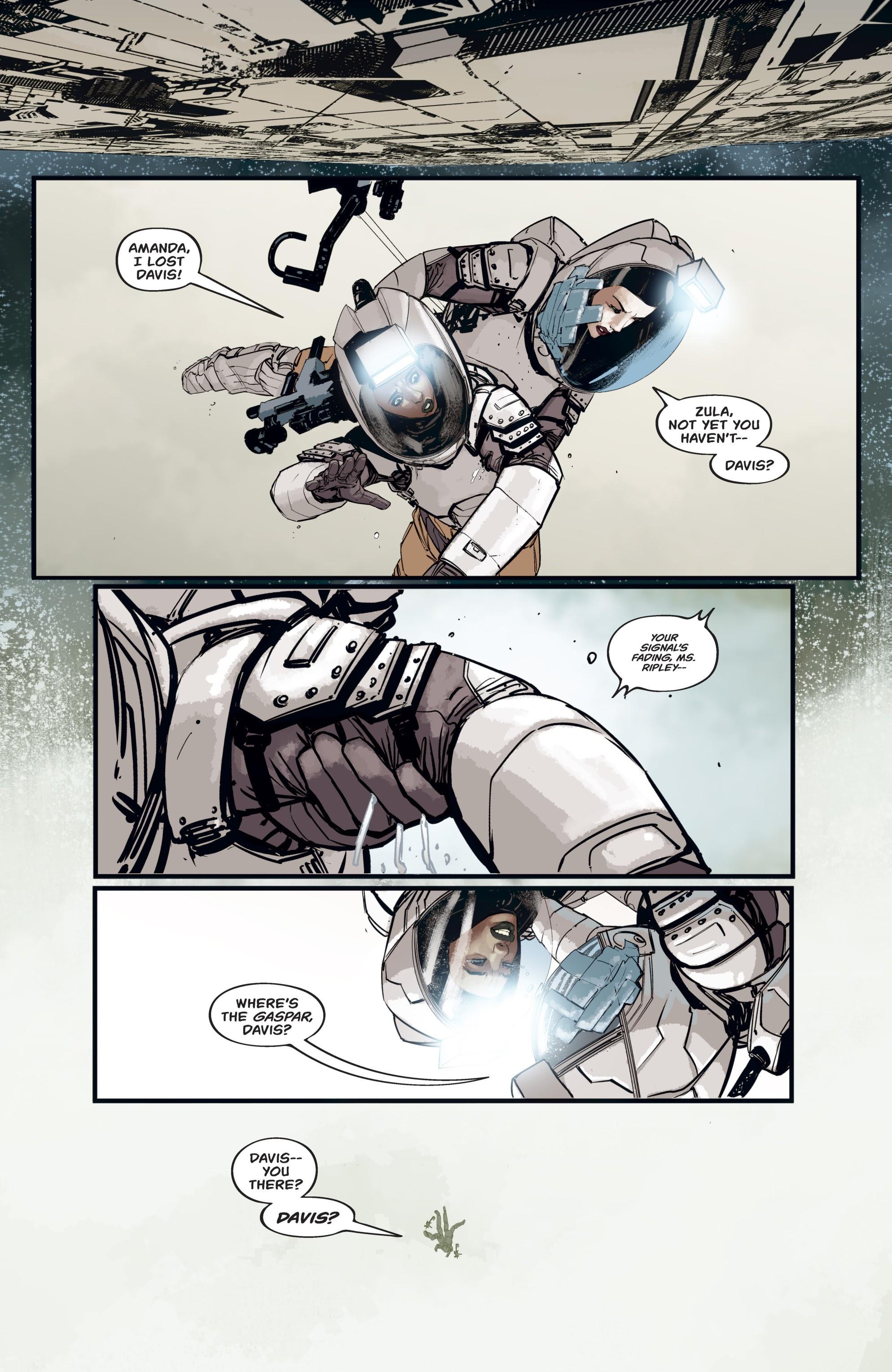Read online Aliens: Resistance comic -  Issue # _TPB - 48
