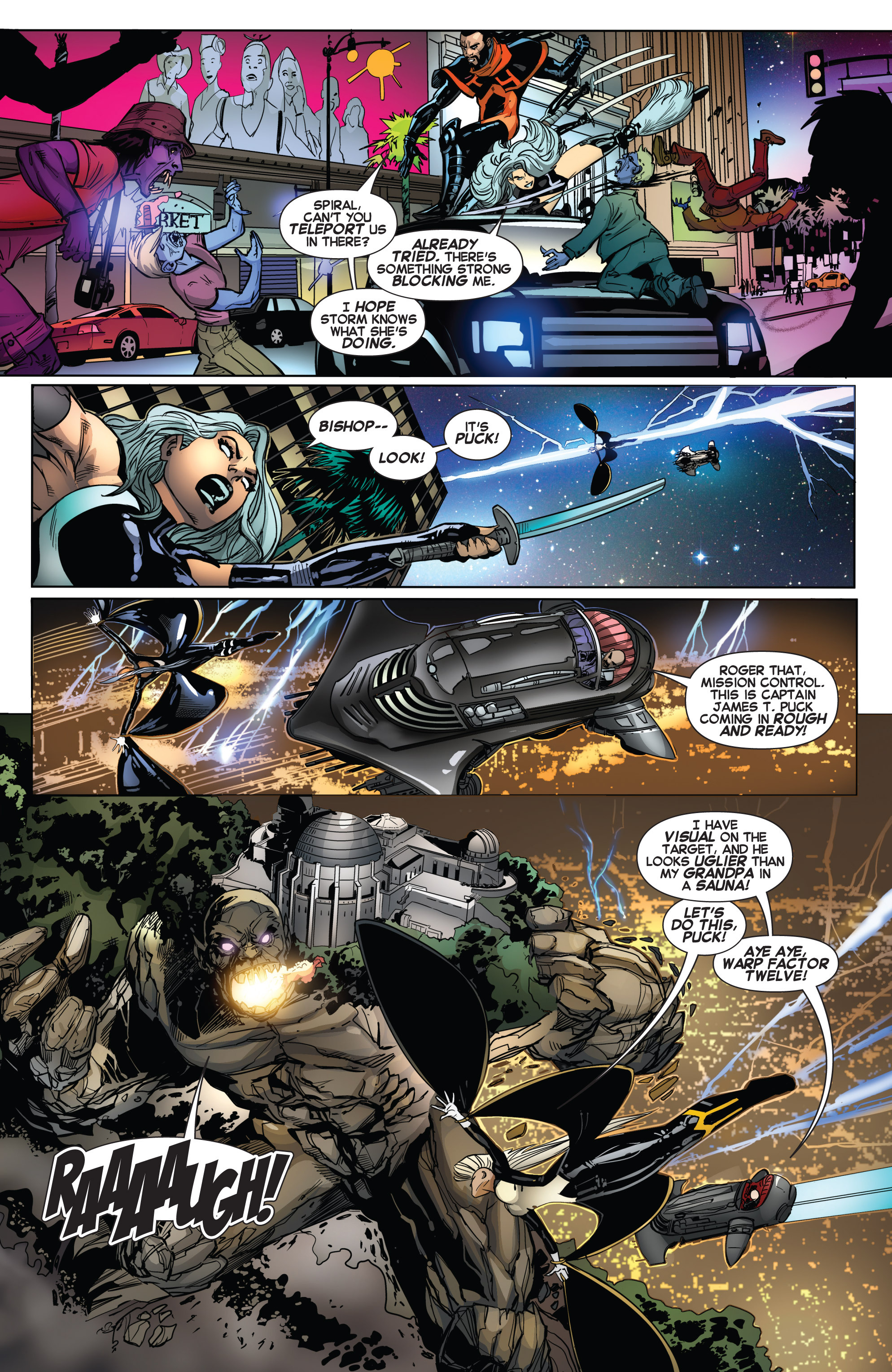 Read online Uncanny X-Force (2013) comic -  Issue #14 - 17