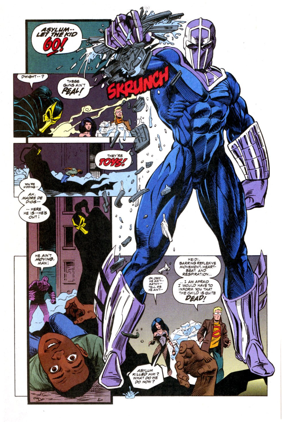 The New Warriors Issue #52 #56 - English 6
