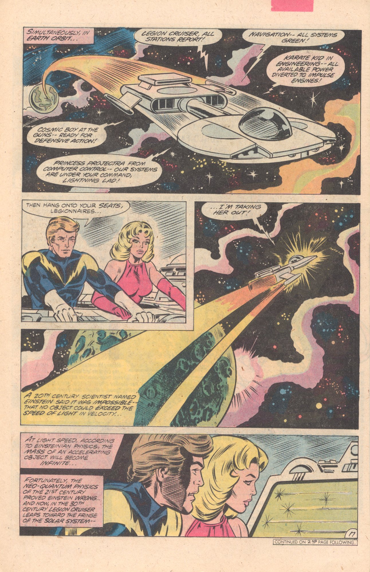 Legion of Super-Heroes (1980) 274 Page 17