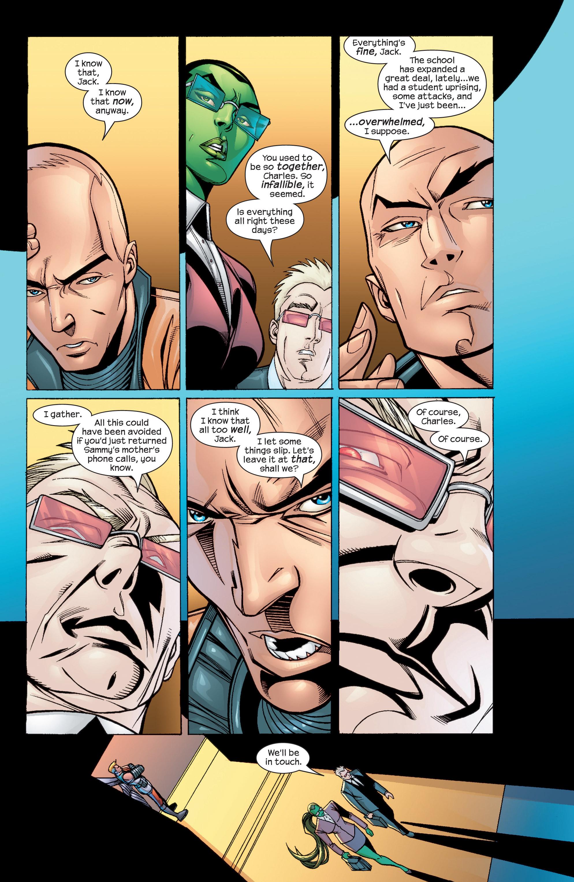 Read online Uncanny X-Men (1963) comic -  Issue #435 - 7