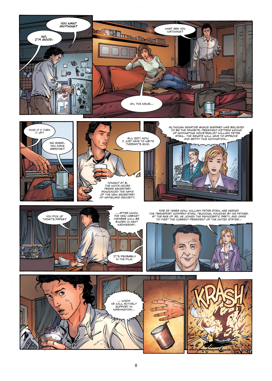Read online Vigilantes comic -  Issue #1 - 8