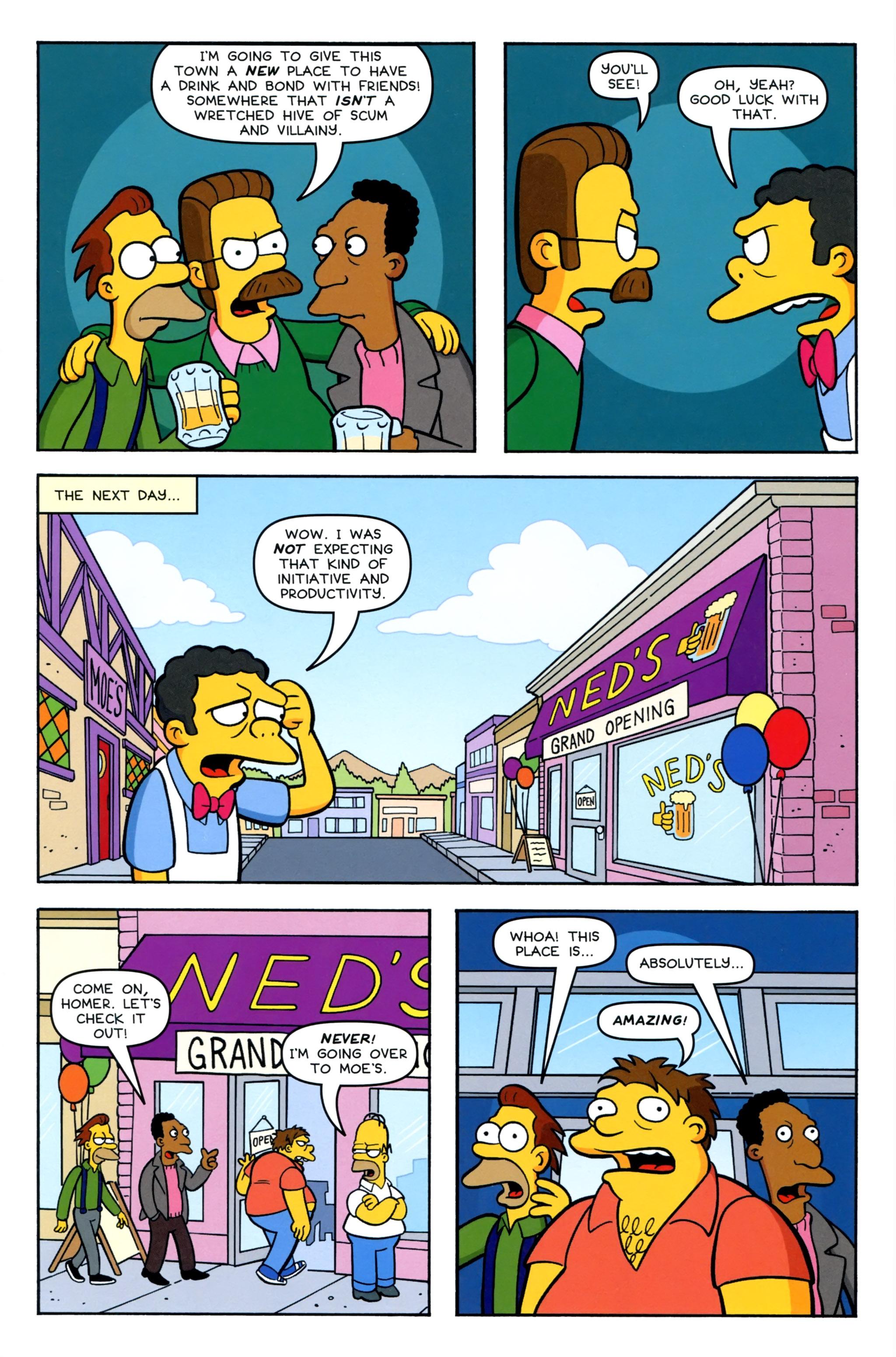 Read online Simpsons Comics comic -  Issue #220 - 7