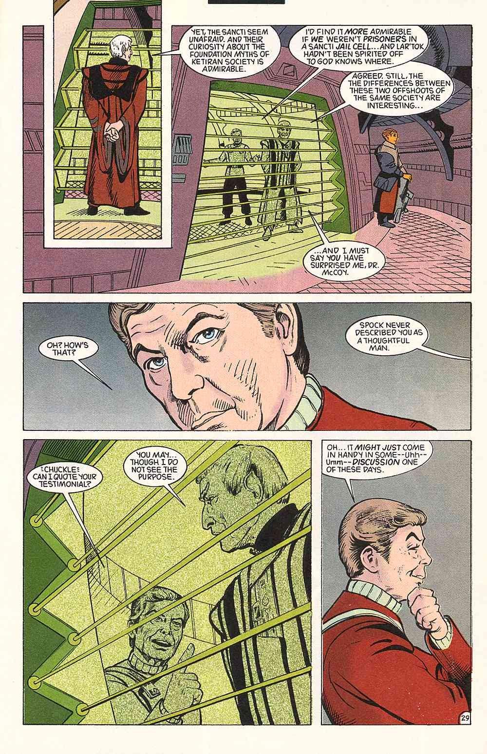 Read online Star Trek (1989) comic -  Issue # Annual 3 - 33