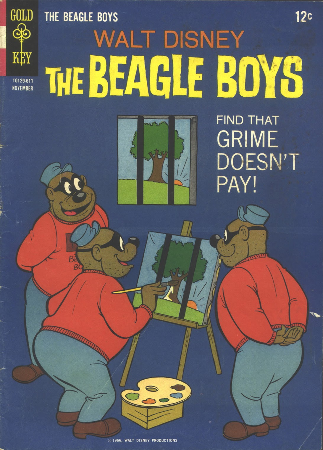 Walt Disney THE BEAGLE BOYS issue 4 - Page 1