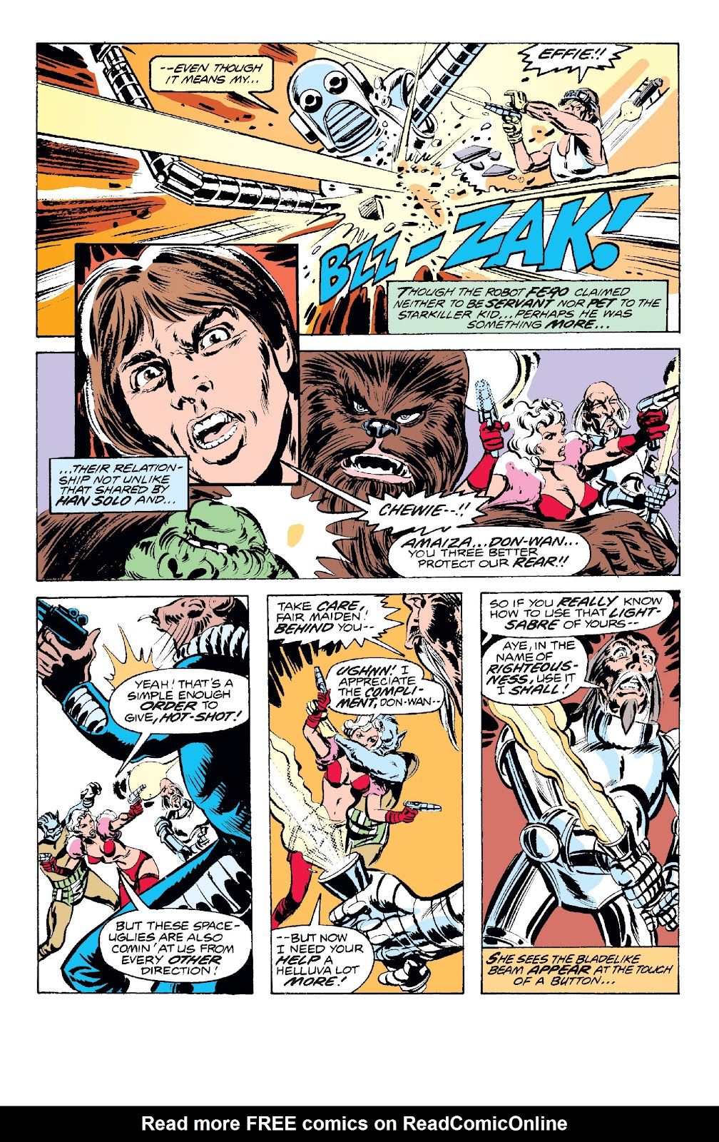 Read online Star Wars Legends: The Original Marvel Years - Epic Collection comic -  Issue # TPB 1 (Part 2) - 67