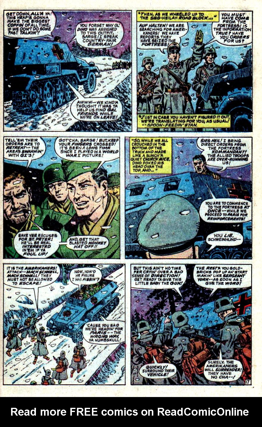 Read online Sgt. Fury comic -  Issue #44 - 25