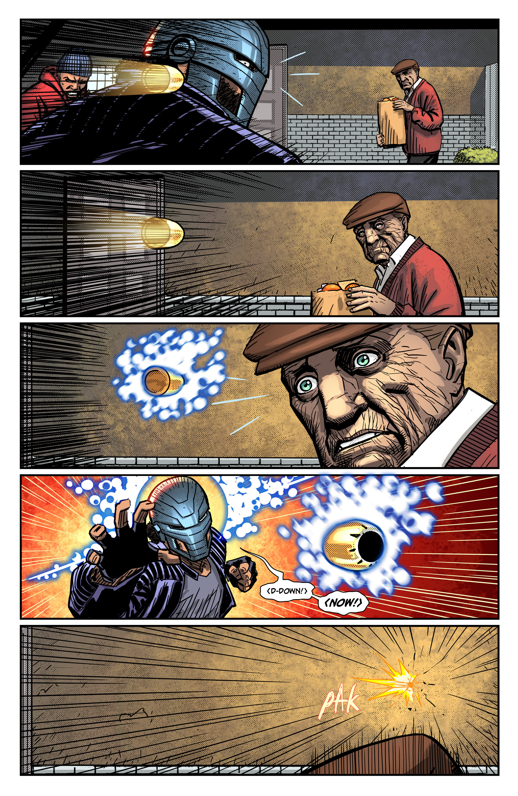Read online Noble comic -  Issue #2 - 16