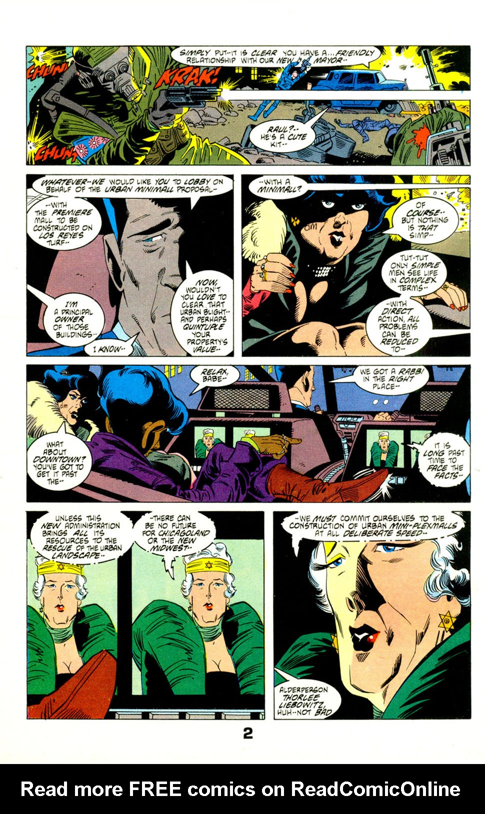 Read online American Flagg! comic -  Issue #29 - 4