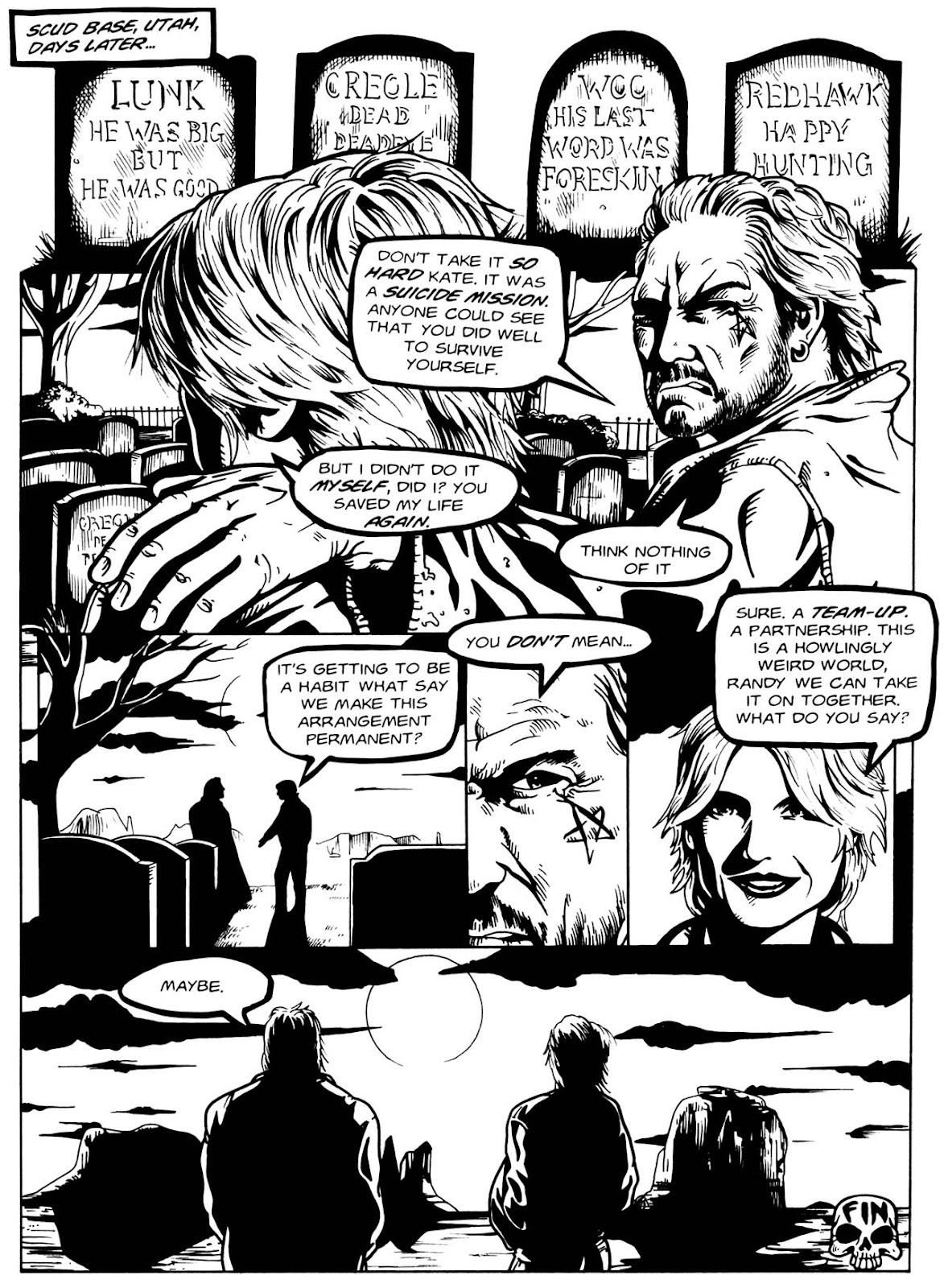 Read online Night of the Living Dead (1994) comic -  Issue #3 - 34