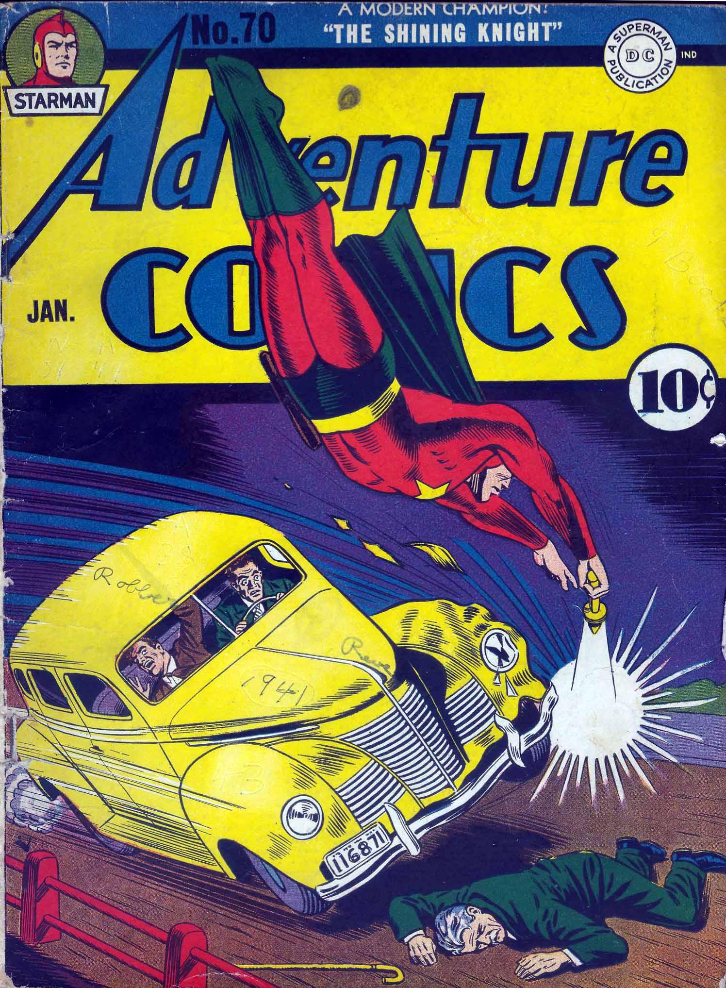 Read online Adventure Comics (1938) comic -  Issue #70 - 1