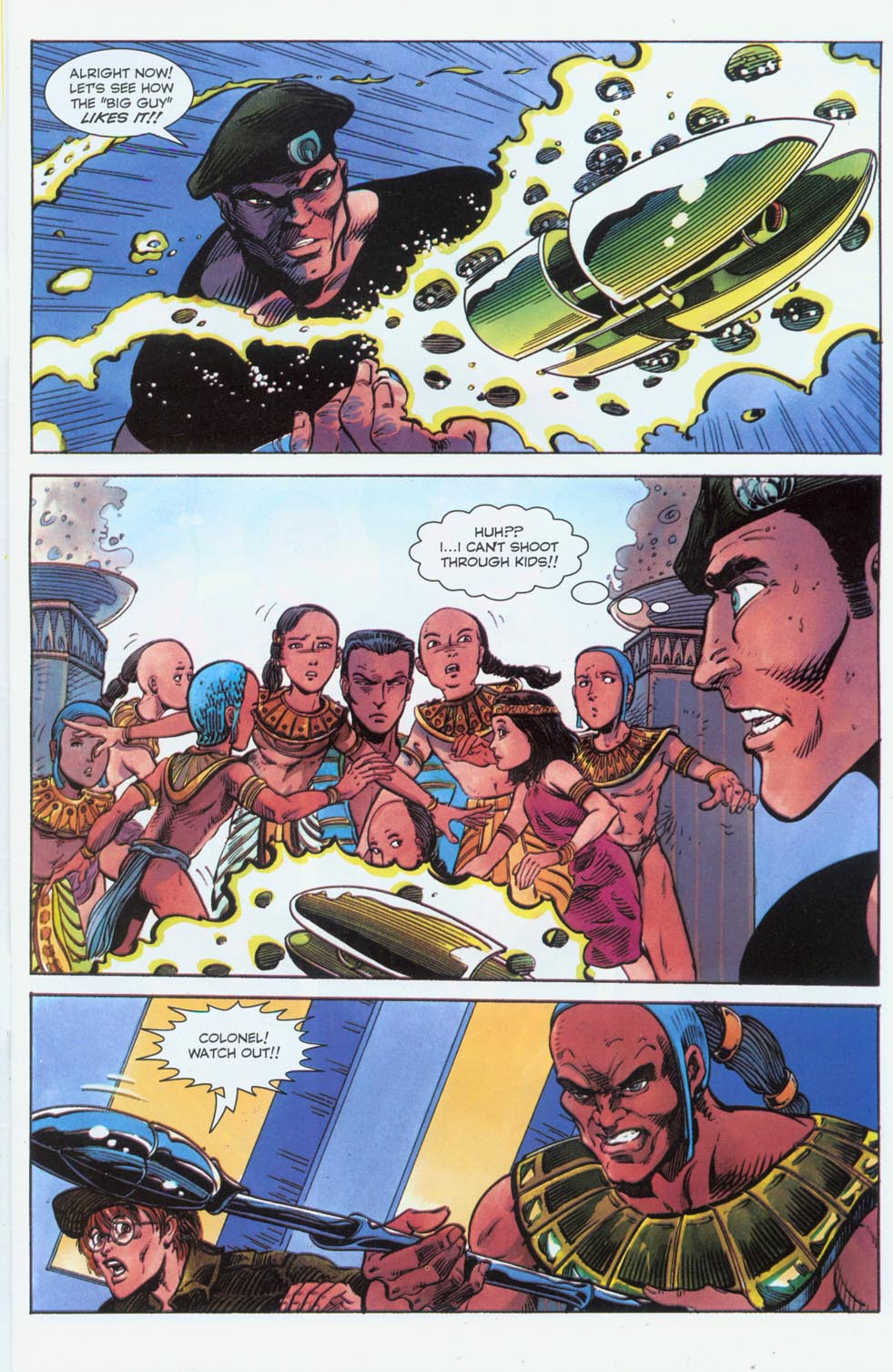 Read online Stargate comic -  Issue #3 - 5