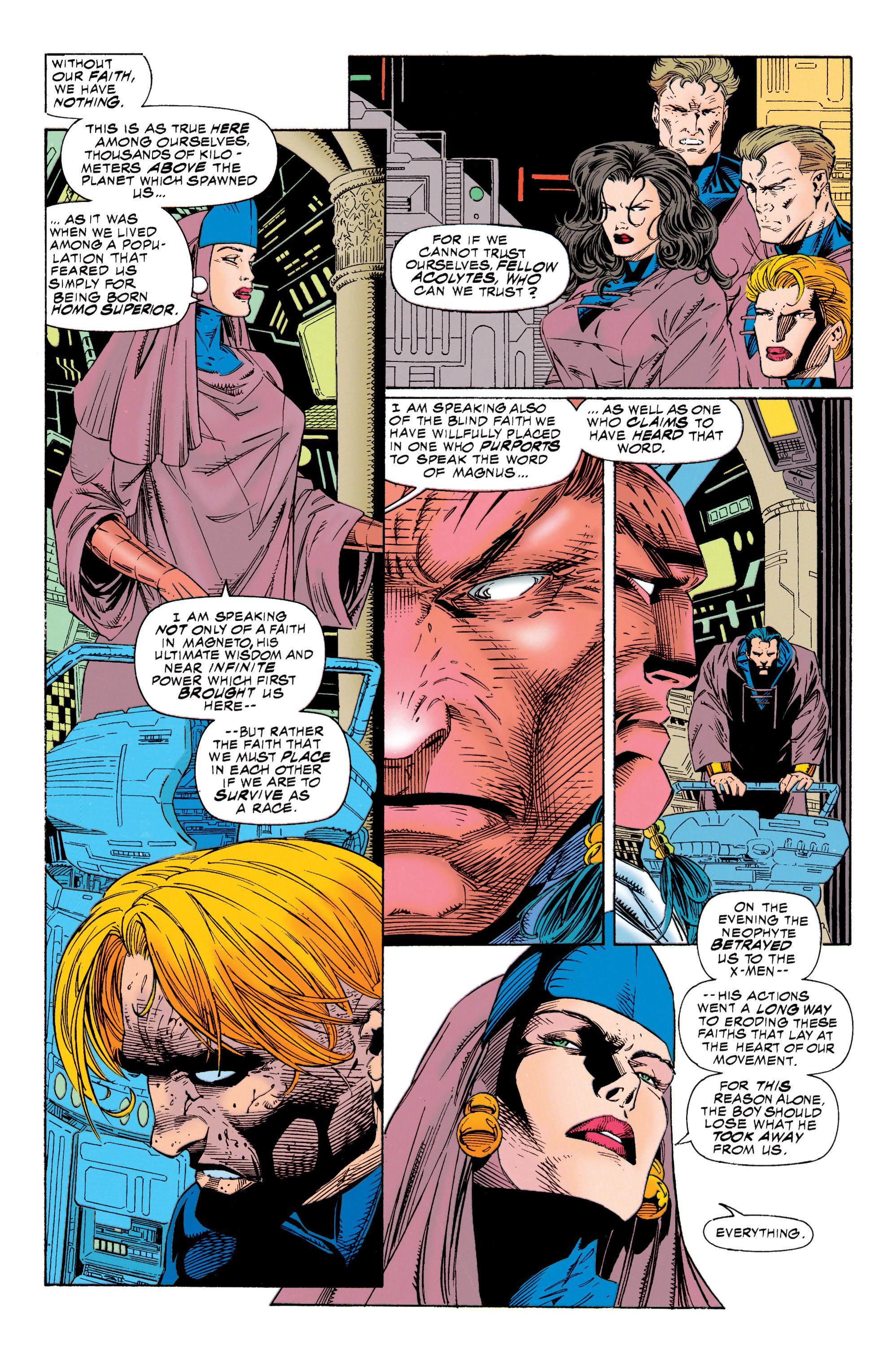 Read online Uncanny X-Men (1963) comic -  Issue #315 - 11
