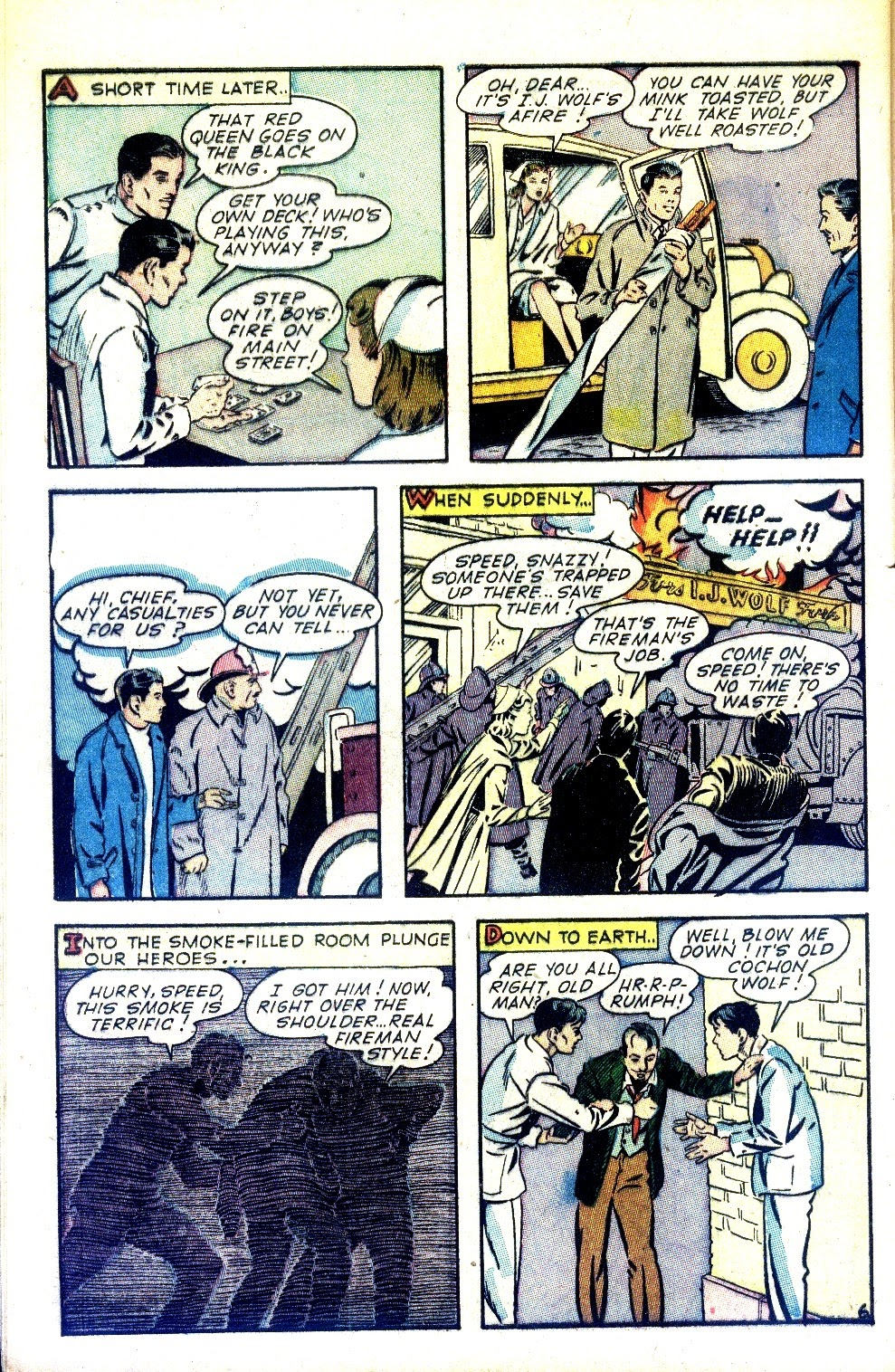 Read online Nellie The Nurse (1945) comic -  Issue #2 - 8
