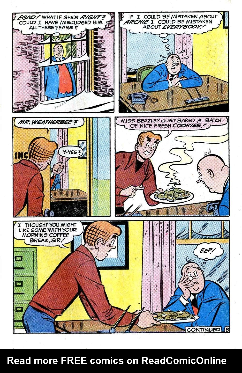 Read online Archie (1960) comic -  Issue #218 - 11