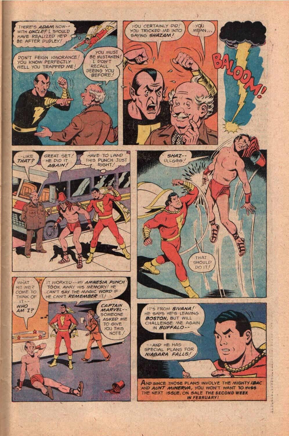 Read online Shazam! (1973) comic -  Issue #28 - 31