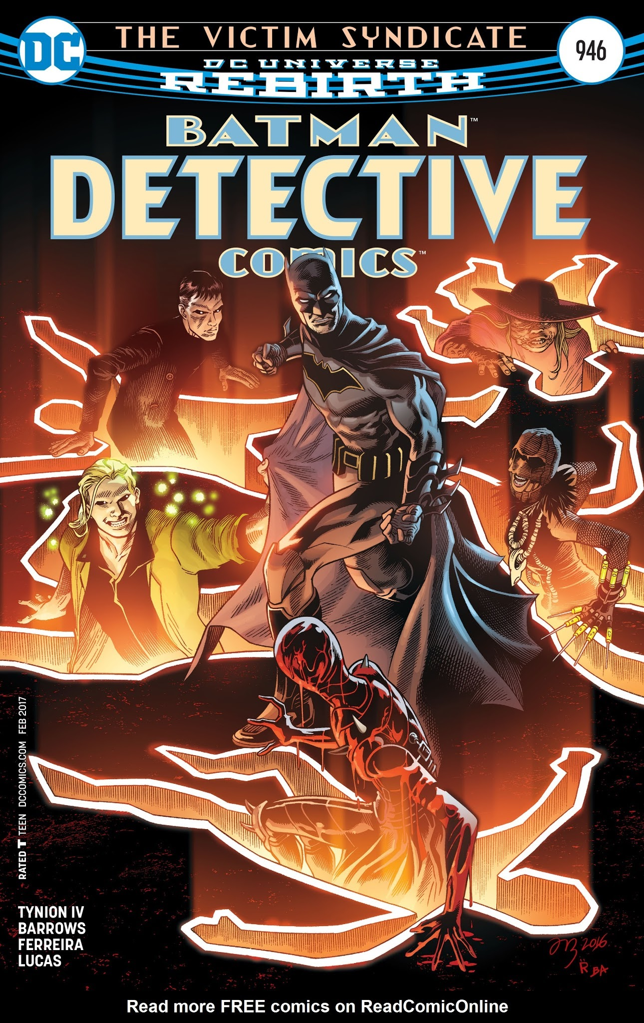Detective Comics (1937) 946 Page 1