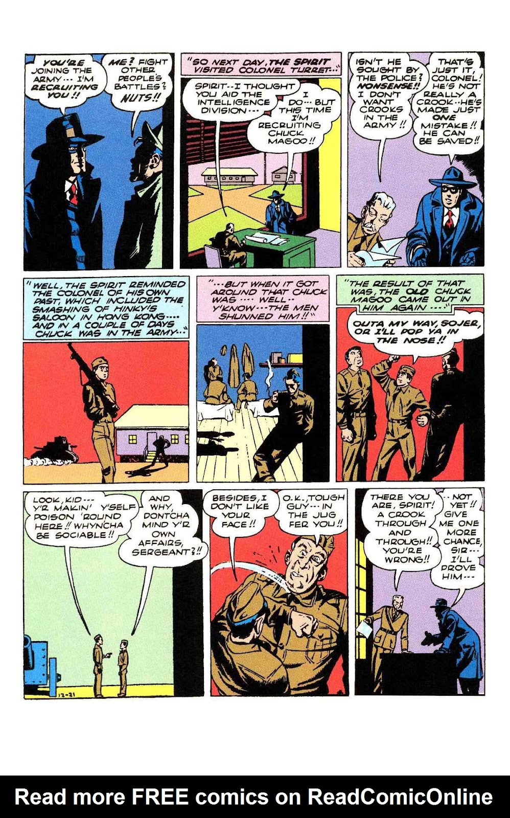 Read online Will Eisner's The Spirit Archives comic -  Issue # TPB 3 (Part 2) - 97