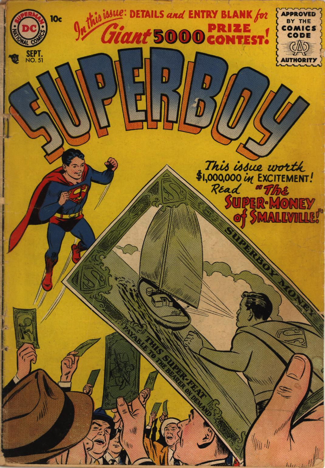 Superboy (1949) issue 51 - Page 1