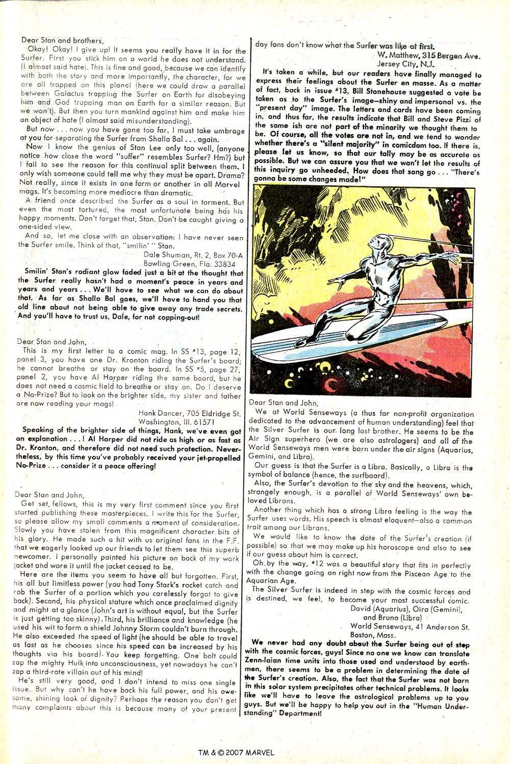 Read online Silver Surfer (1968) comic -  Issue #17 - 33