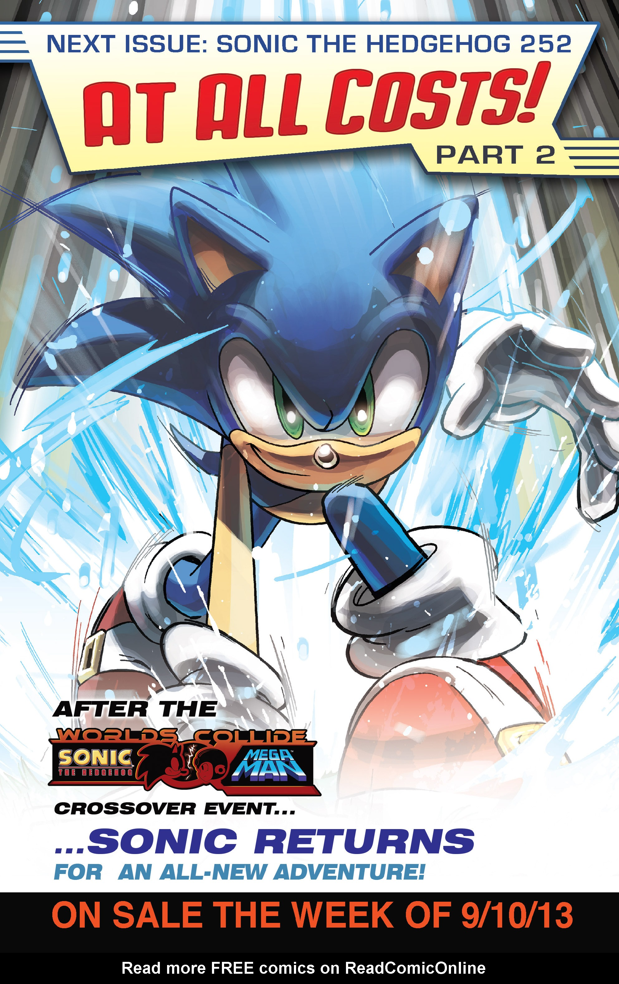 Read online Sonic Mega Man Worlds Collide comic -  Issue # Vol 3 - 117