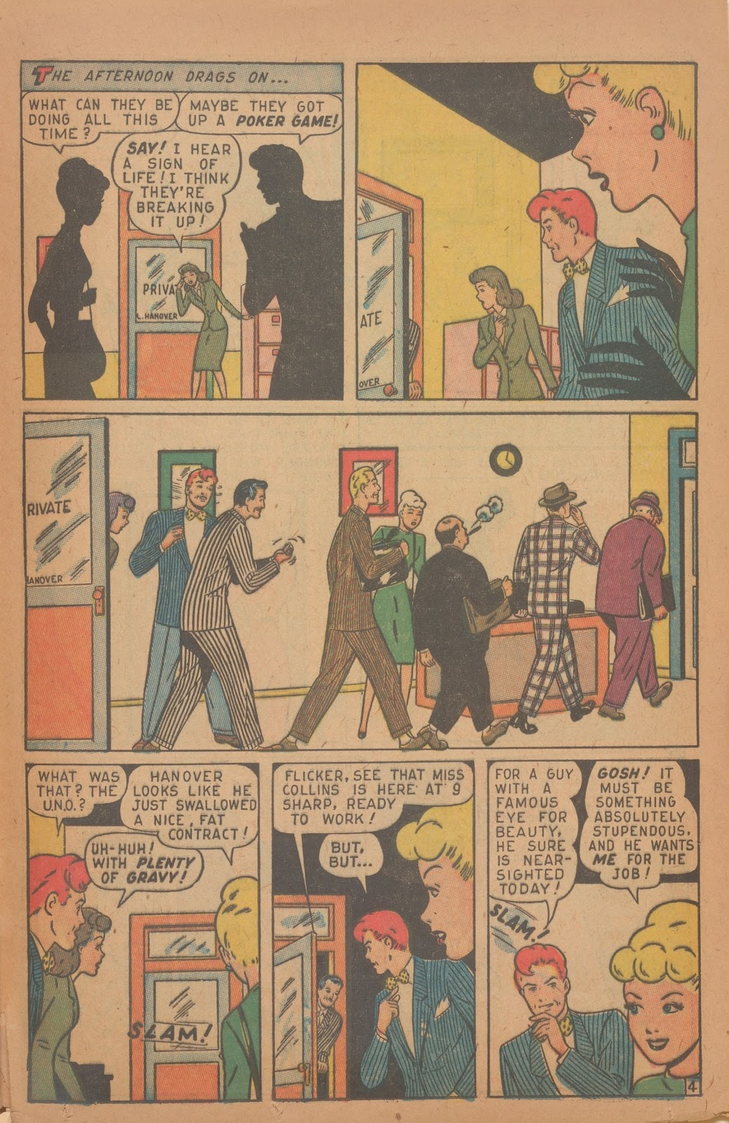 Read online Nellie The Nurse (1945) comic -  Issue #9 - 37