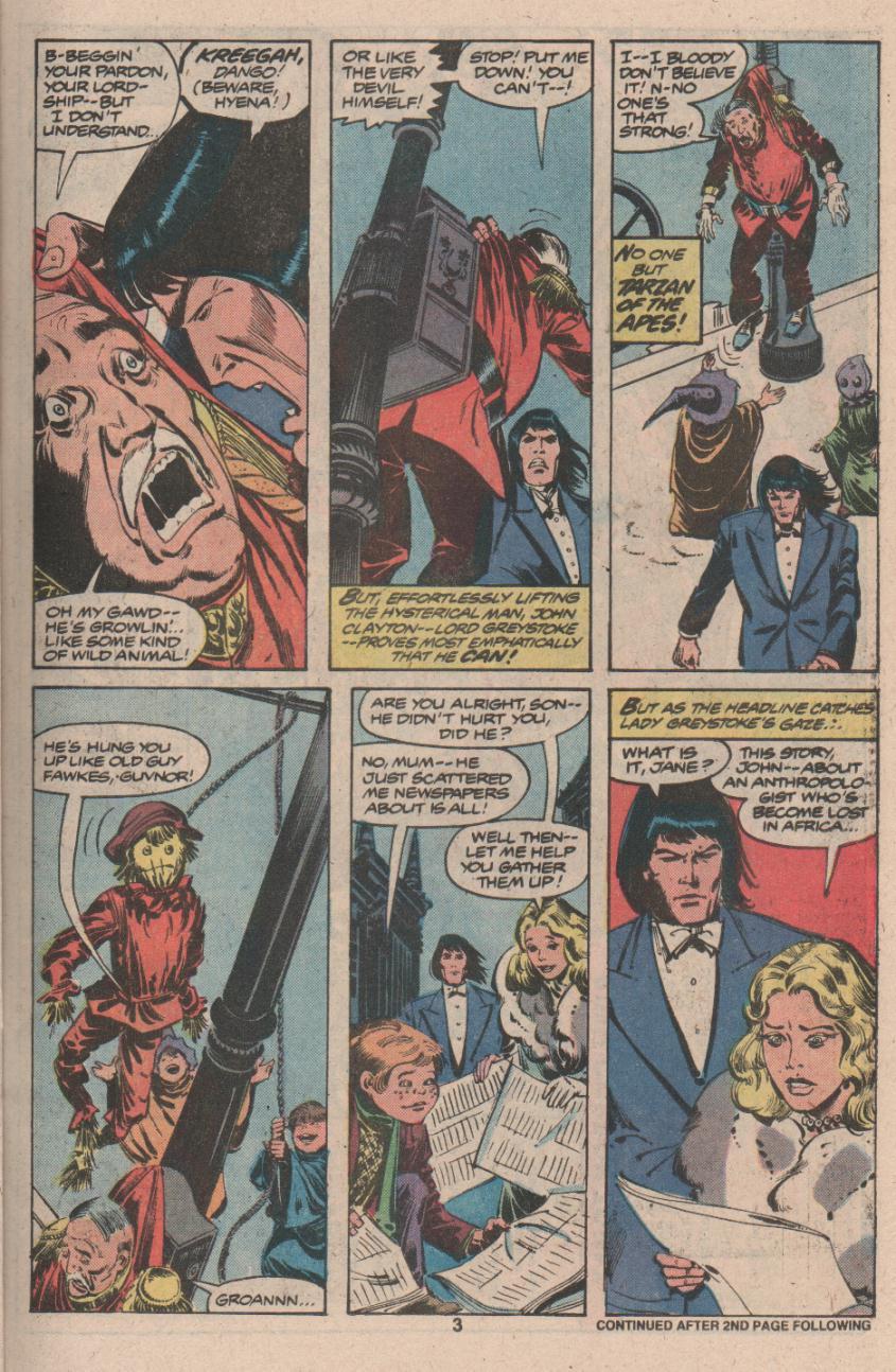 Read online Tarzan (1977) comic -  Issue # _Annual 3 - 4