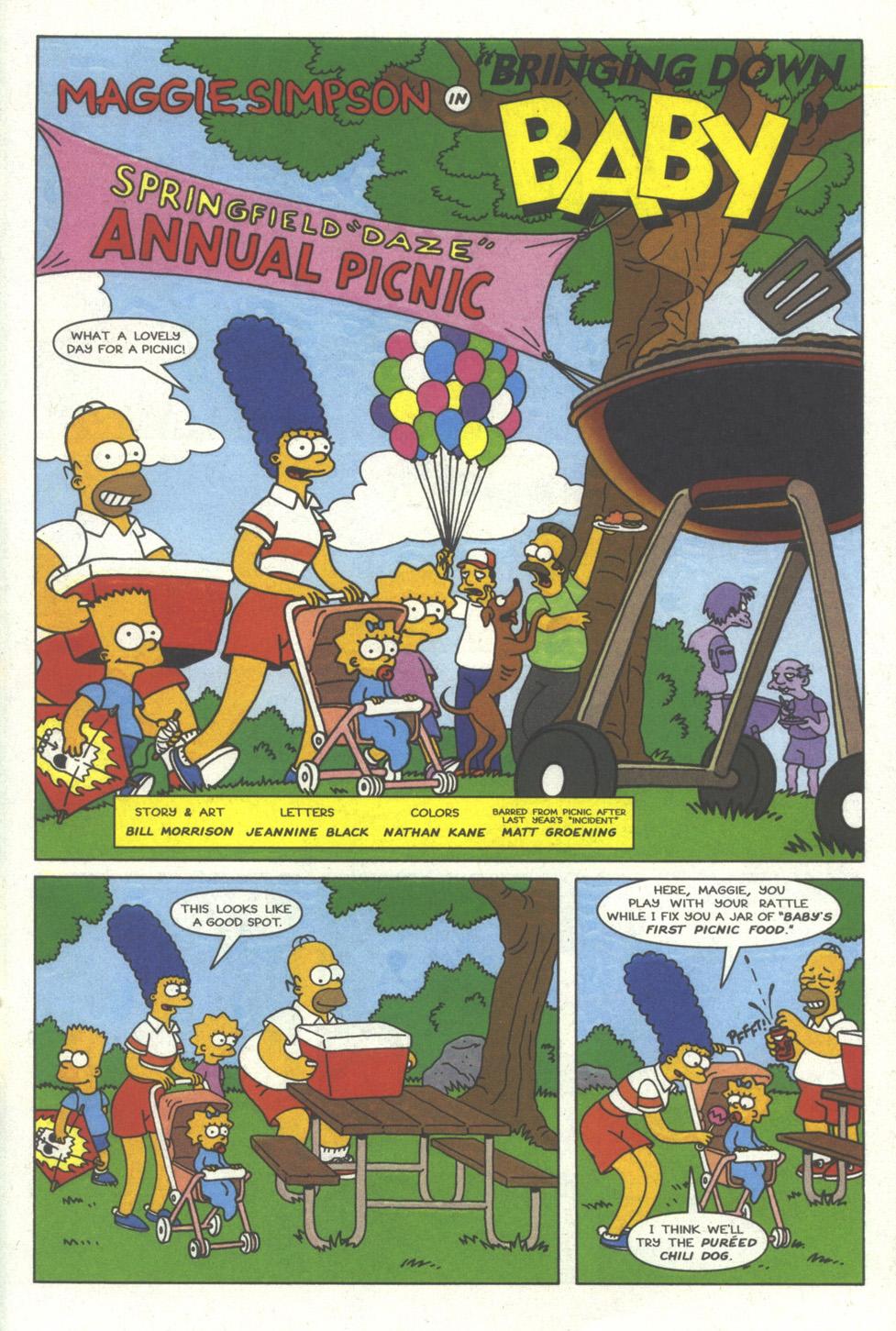 Read online Simpsons Comics comic -  Issue #29 - 25